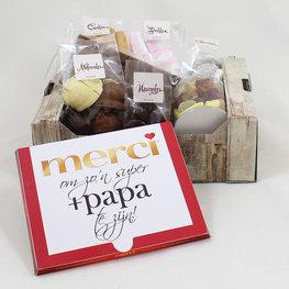 Merci pakket - +papa